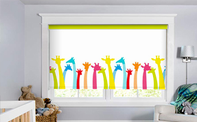 Giraffes-Roller-Blinds